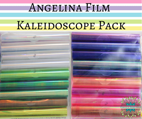 Angelina Fusible Film Big Rainbow Pack_All 18 Colors_3 foot of each color