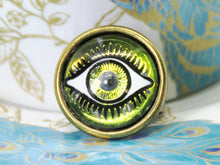 Evil Eye Adjustable Ring