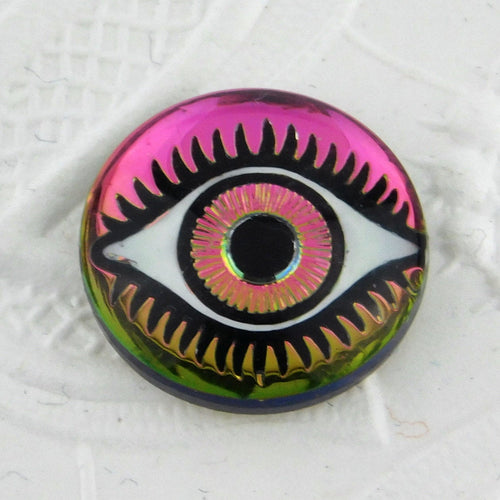 1) Evil Eye Cabochon_18mm_Vitrail Medium