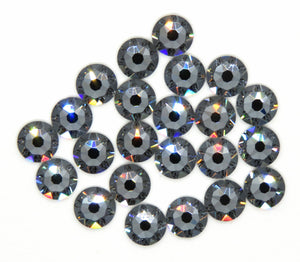 100) SS20_Swarovski Crystal Flatbacks_Crystal Silver Night