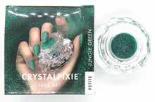 10 grams) Swarovski CrystalPixie Petite Nail Art Supply_Love's Passion_Jungle Green