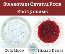 5 grams) Swarovski CrystalPixie EDGE Nail Art Supply_Cute Mood_Heart's Desire