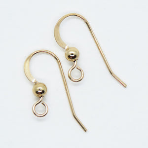 1 pair) 14K Goldfill Earwires_Gold-filled_Precious Metal