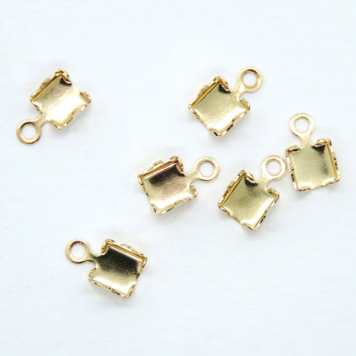 10 pcs_SS12 Rhinestone Chain Ends_for 3mm