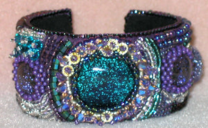 Brass Cuff Bracelet 1-1/2 inches wide_Cuff Blank_Jewelry Design_Bead Embroidery_Bead Supplies_