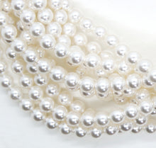 50) 4mm Swarovski Crystal Pearls