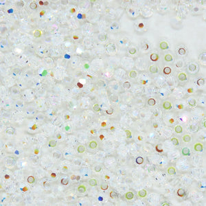 50 beads) 2mm Swarovski Crystal Rounds_Crystal Transmission_Article #5000