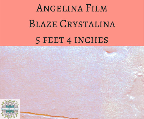 5 feet by 4 inches Blaze Crystalina Angelina Film