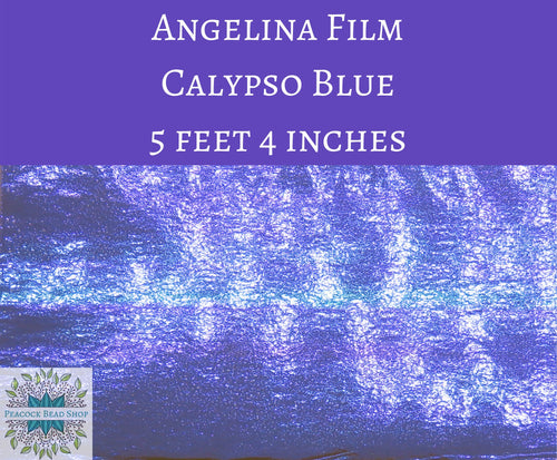 5 feet by 4 inches Calypso Blue Angelina Film