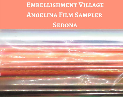 Angelina Film Sampler Sedona_4 inch wide by 3 feet long