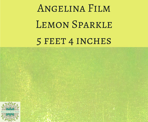 5 feet by 4 inches Lemon Sparkle Angelina Film