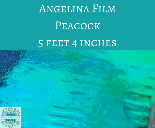 5 feet by 4 inches Peacock Angelina Film