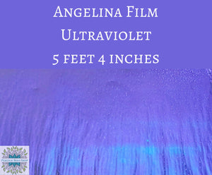 5 feet by 4 inches Ultraviolet Angelina Film