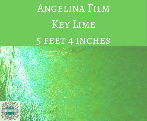 5 feet by 4 inches Key Lime Angelina Film