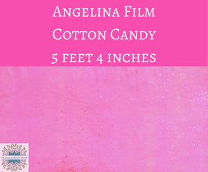 5 feet by 4 inches Cotton Candy Angelina Film