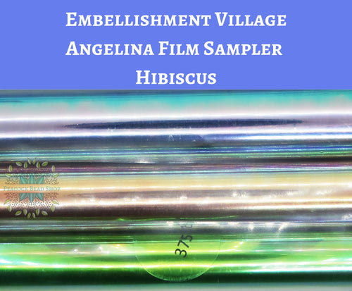 Angelina Film Sampler Hibiscus_4 inch wide by 3 feet long