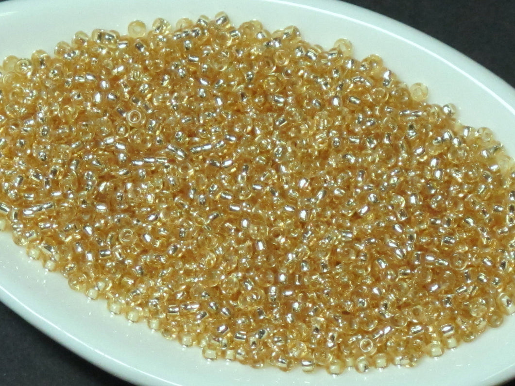 25 grams_Designer's BULK_15/0 Gold Seed Beads