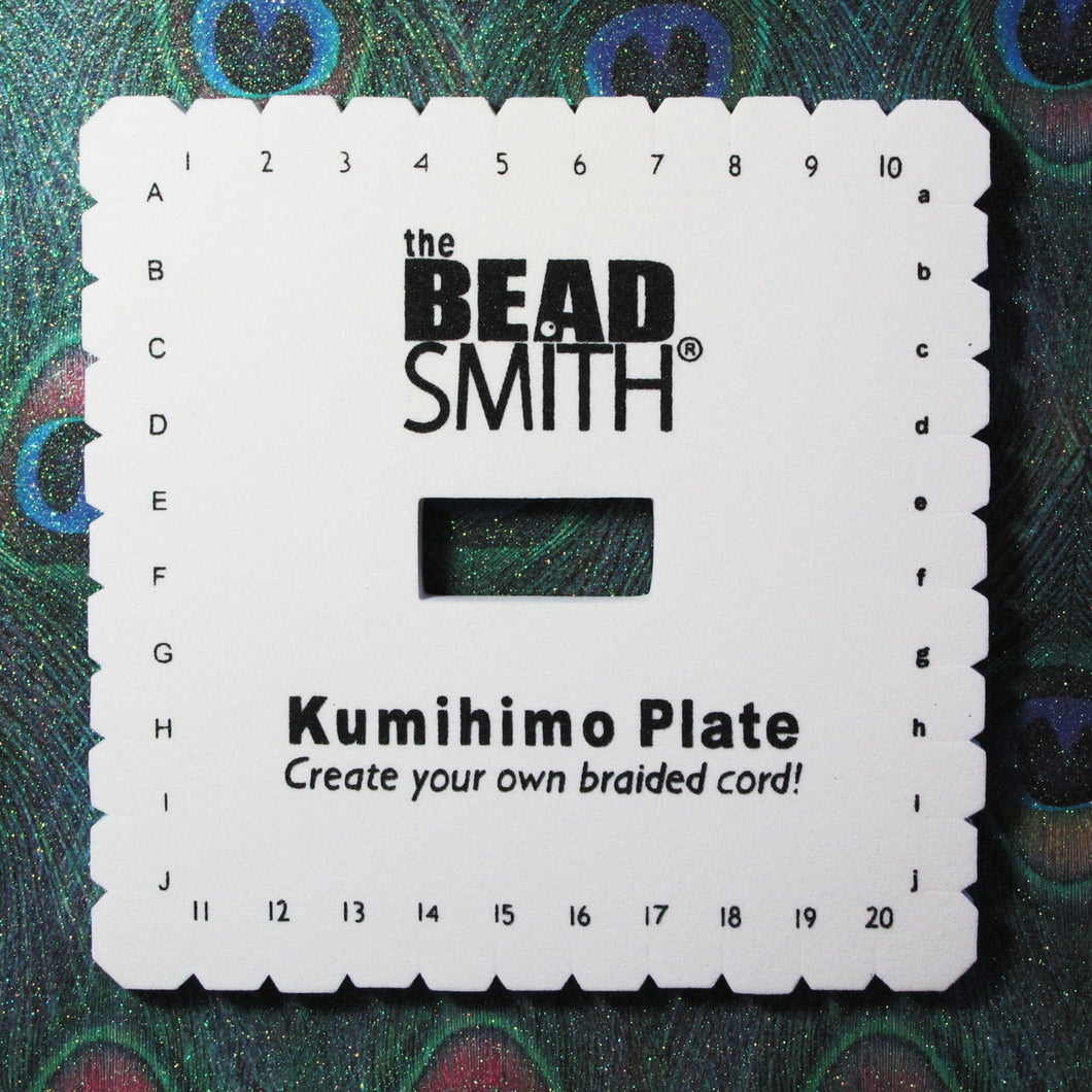 Square Kumihimo Plate_Braided Rope_Jewelry Tools_Jewelry Design_Beadsmith