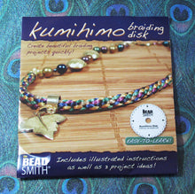 Kumihimo Disc_with Instructions_Braiding