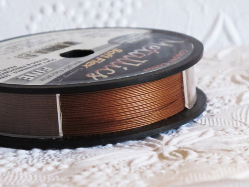 Soft Flex Fine in Metallic Copper Stainless Steel 30ft Spool