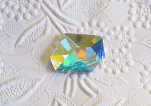 Swarovski Crystal Cosmic Stone_Crystal AB_28x24mm