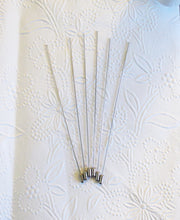 Hat Pins_Antiqued Silver_6 inches long