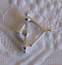 12mm Sterling SIlver Toggle Clasp_Diamond Shape_Jewelry Design