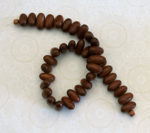 Closeout SALE_18x10mm Wood Beads_Bayong