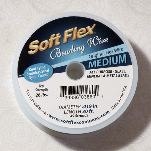 Medium Soft Flex Wire_Stainless Steel_30 foot Spool