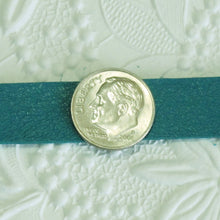 Leather Strap_Turquiose_10 inches long