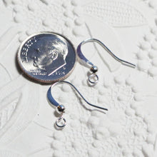 French Earwires_Silver Plate_Ball Detail_10 pair_Jewelry Design_Designers Bulk_Bright Silver