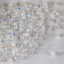 50 beads) Crystal AB 2mm Swarovski Crystal Rounds #5000