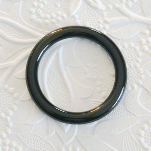 51mm Donut Ring_Black-Pendant_Acrylic