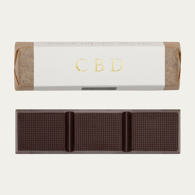 Dark Chocolate Infused with CBD (Full Spectrum)