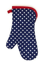 Load image into Gallery viewer, Patriotic Kitchen Oven Mitts America Flag Themed Kitchen Decor