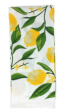Load image into Gallery viewer, Lemon Kitchen Towels with Salt and Pepper Shaker Set