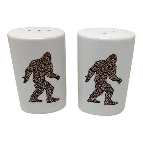 Bigfoot Sasquatch Salt and Pepper Shakers