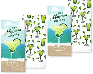 Margarita Kind of Day Kitchen Towels Four Pack