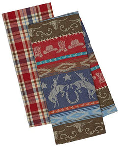 Western  Kitchen Towels Set