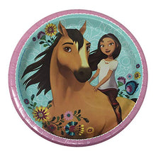 Load image into Gallery viewer, Spirit Riding Free Horse Birthday Party Supplies for 16 Guests - Plates, Tablecover, Banner, Cutlery, Napkins Plus Cake Cutter