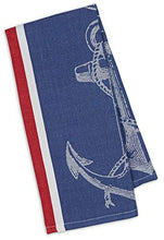 Load image into Gallery viewer, Nautical Anchor Themed  Kitchen Towels Set