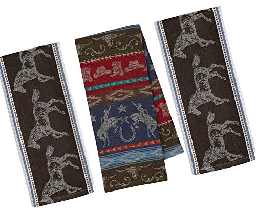 Western Themed Kitchen Towels Set