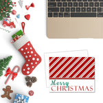 Candy Cane | Printable Merry Christmas Card