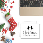 Christmas Kisses | Printable Christmas Card
