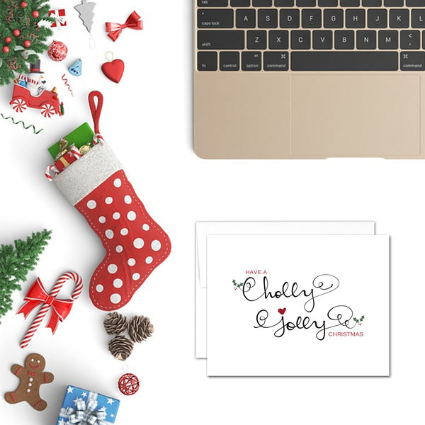 Have a Holly Jolly Christmas | Printable Christmas Card
