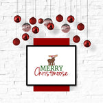 Merry Christmoose Wall Art Printable