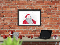 Santa Claus Wall Art | Christmas Printable