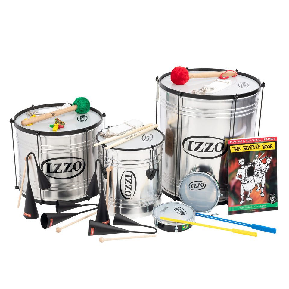 Izzo Junior samba 10 player classroom pack