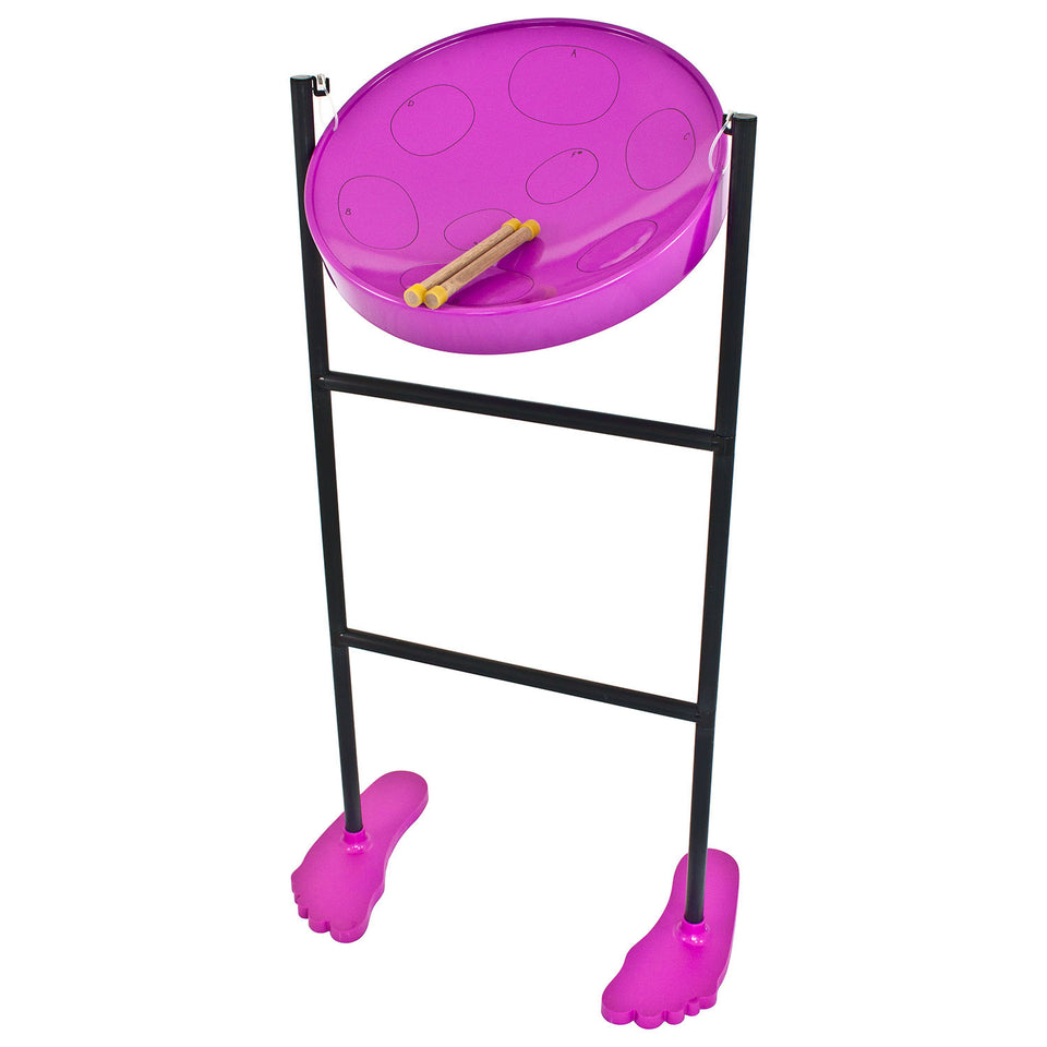 Pack of 4 Jumbie Jam steel pans - Purple