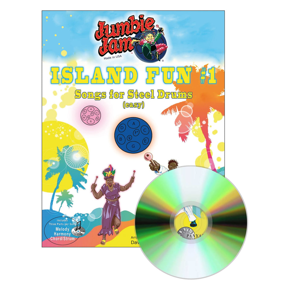 Jumbie Jam - Island Fun Song Book 1 - steel pan